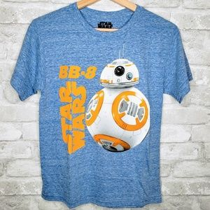 NWOT Star Wars BB-8 Character Kids Shirt - L